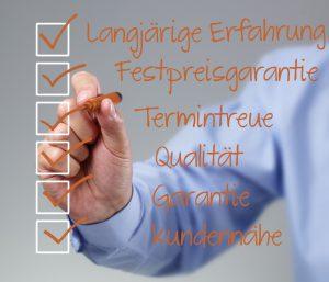 Bauträger Checkliste